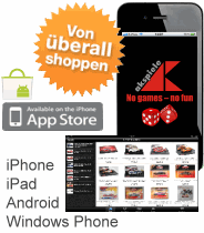Mobil shoppen mit iPhone, iPad, Android und Windows Phone