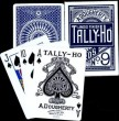 TALLY-HO, Poker No. 9, Linoid Finish, Circle Back