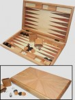 MILOS Backgammon from oak tree with magnetic catch