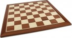 Chessboard FG 57 mm / draughtboard with inlays