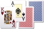 BLACKJACK / POKER - NTP, 100% Plastic Casino Playing Cards