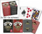 10 pc. Cartamundi Casino POKER Playing Cards