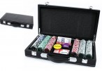 Poker Chips Set - Pokerkoffer mit 300 Laser Chips