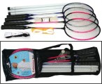 Badminton Set 4 PLAYERS for 4 player with net