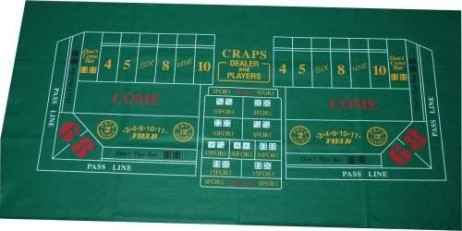 CRAPS Casino-Layout