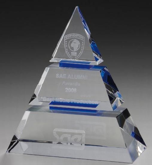 Luxor Award Cristal Glass Trophy Cups Crystal