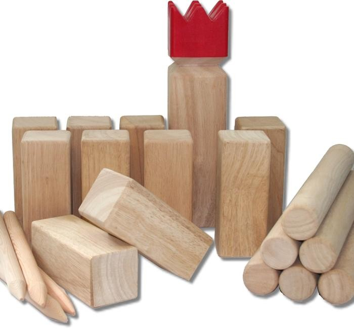 original wikinger schach classic das gummibaum kubb ebay. Black Bedroom Furniture Sets. Home Design Ideas