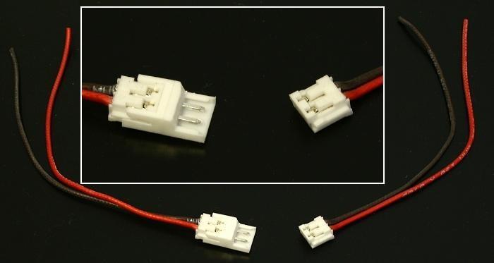 mini steckverbinder 2 polige modellbau slotcar stecker ebay. Black Bedroom Furniture Sets. Home Design Ideas