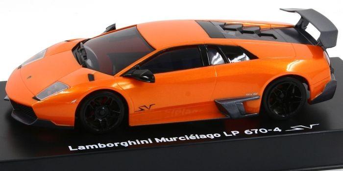 Lamborghini Murcielago Sv Lp670 4 Sv Orange Karosserie Kyosho Mini Z Mzp215po Ebay