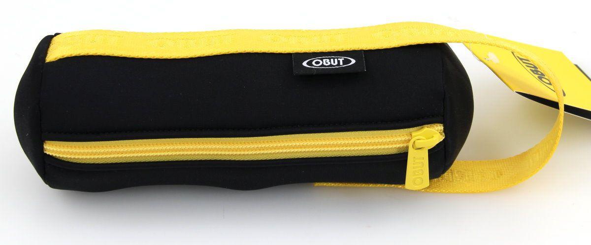 Stylische Soft - Bouletasche von Obut für 3 Boule Kugeln, schwarz