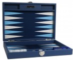 Backgammon BUFFALO B20L Nuit Medium, Alcantara Spielfeld, Hector Saxe, Paris Bild 3