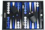 Backgammon BUFFALO B20L Anthracite Medium, Alcantara, Hector Saxe, Paris Bild 3