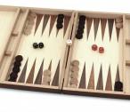 Schach - Backgammon - Dame 10x10 Kassette mit Intarsien mit Gravur, Top Geschenk Bild 4