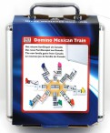 Domino MEXICAN TRAIN DOUBLE with case-12