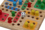 Mini Ludo, high quality solid wood version from Pintoy Image 2