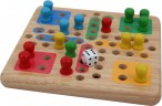Mini Ludo, high quality solid wood version from Pintoy Image 3