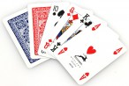 2 pc. Ramino - Poker 98 by MODIANO, Romme - Bridge playing cards Image 2