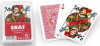 Playing cards wooden box Skat, with print, nice gift idea Image 3