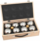 OBUT 8-SET, Leisure time Boules in the wood case