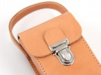 Boule leather bag, premium product made of genuine leather with engraving, gift idea Image 2