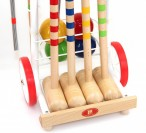 CROQUET BASIC - cart for 4 players, Quality made in Italy Image 2