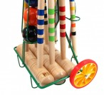 CROQUET BASIC SAI - cart for 4 players, Quality made in Italy Image 3