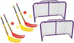 FunHockey Floorball Set for 4 players plus 2 Goal