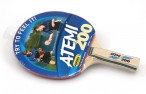Tabletennis Bat Atemi 200 slick/slick, concave with engraving Image 3