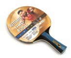 Timo Boll Gold - Edition, Table-Tennis-Bat Butterfly with engravement Image 2