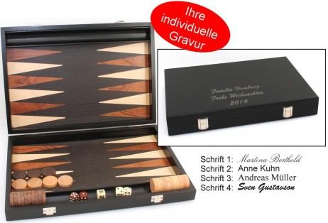 backgammon milos medium 1163 von philos mit gravur geschenk idee klassische spiele backgammon. Black Bedroom Furniture Sets. Home Design Ideas