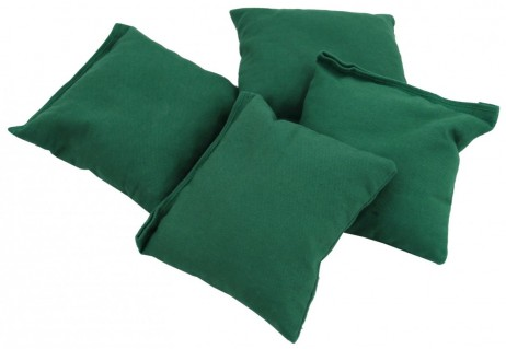 Cornbags Standard green for Cornhole Cornboard Game (Set of 4)