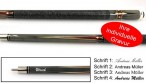 GIM Pool Cue with engraving, idea for gift
