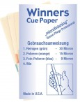 Winners Cue Paper Micro Schleifpapier für Billard Queue