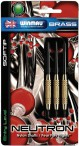 Winmau Neutron Softdarts mit Messingbarrel, 3er Set, Soft - Dartpfeile Bild 3