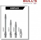Bull's Shaft Simplex Dart Shafts, 3er Set