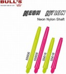 Bull's Neon Nylon Dart Shafts, 3-piece Set