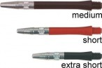 Shaft Elite Dart Shafts, short, 3er Set
