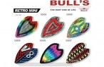 Bull's Flight Retro, Retro Mini Dart Flights, 3er Set