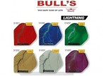 Bull's Flight Lightning, Standard Dart Flights, 3-piece Set