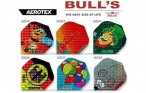 Bull's Flight Aerotex, Standard Dart Flights, 3-piece Set