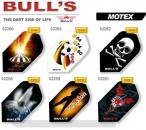 Bull's Flight Motex, Slim Dart Flights, 3-piece Set