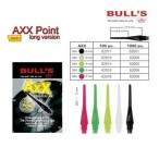 Bull's AXX Point Lang Soft Tips, Dart Spitzen 6 mm