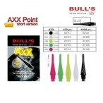 Bull's AXX Point Kurz Soft Tips, Dart Spitzen 6 mm