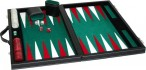 leatherette backgammon case medium - green field Image 2