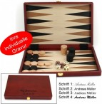 Backgammon Naxos medium 1112 from Philos, classic game in Size M, engraved item