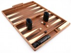 Precious wood backgammon case mahagany - Weible Image 2