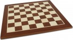 Chessboard FG 45 mm / draughtboard with inlays