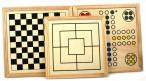 Große Spielekassette, Spielsammlung aus Holz Bild 3