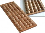 Bingo ball storage in wood for 75 balls - Control Board