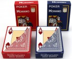 4 Decks Poker Modiano 100% Plastik Spielkarten 4 Pips Jumbo Index, Ludomax Paket